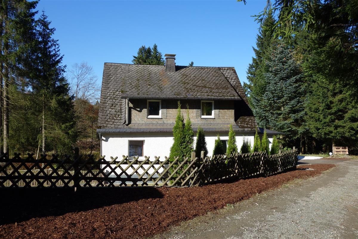 Fonkelnieuw Exterieur | Vakantiehuis Waldhaus Winterberg VG-67